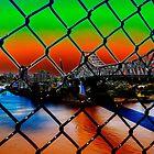 Brisbane River by Magda Labuda