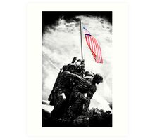 Iwo Jima Monument Art Print