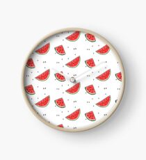 Watermelons and Seeds Clock