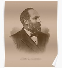 President James Garfield Poster