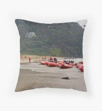 2009 Victorian TRE IRB Championships Wye River (12)  Throw Pillow