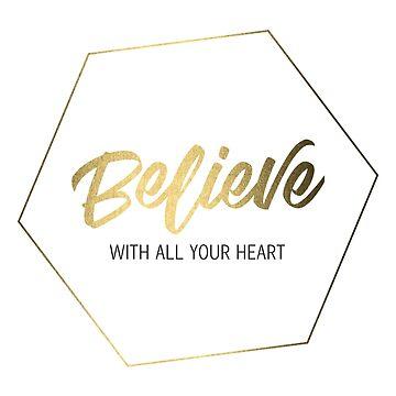 Inspiring Gifts for Entrepreneurs #4 - Gold on White by SKKSdesign