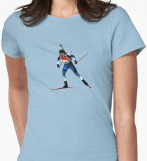 biathlon Women's Fitted T-Shirt