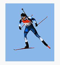 biathlon Photographic Print