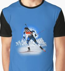 biathlon Graphic T-Shirt