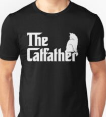 82fa70386 The Catfather T-Shirt Funny Cat Parody Men Fathers Day Gift Slim Fit T-
