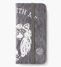 Bear with me - fur in the background iPhone Wallet/Case/Skin