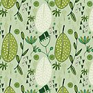 Mod Emerald Forest light Green #homedecor by susycosta