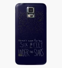 Six Feet Under the Stars Case/Skin for Samsung Galaxy