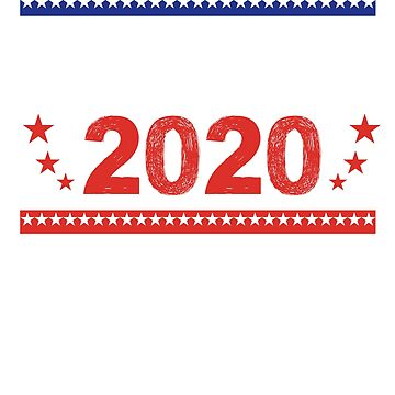 Trump 2020 - Trump For President Election Mens Womens T Shirt - Trump is True 2020 Tees by JustBeAwesome