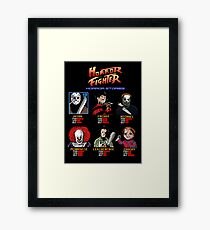Horror Fighter Framed Print