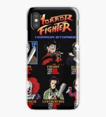 Horror Fighter iPhone Case/Skin