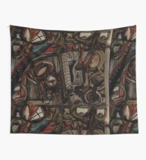 Absence Of Missed Opportunities Depopulates Future Nostalgias Wall Tapestry
