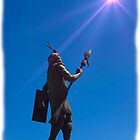 Inca King Huayna Capac Appeals To The Sun God III by Al Bourassa