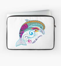 Catch the Waves Dolphin Laptop Sleeve