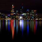 Night View.1 by Nigel Donald