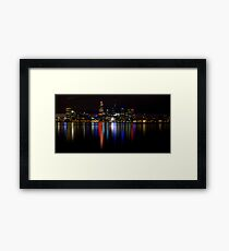 Night View.1 Framed Print