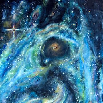Swirling Galaxies by justafriend