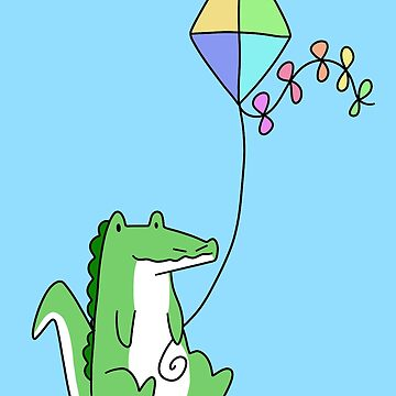 Kite Alligator  by SaradaBoru