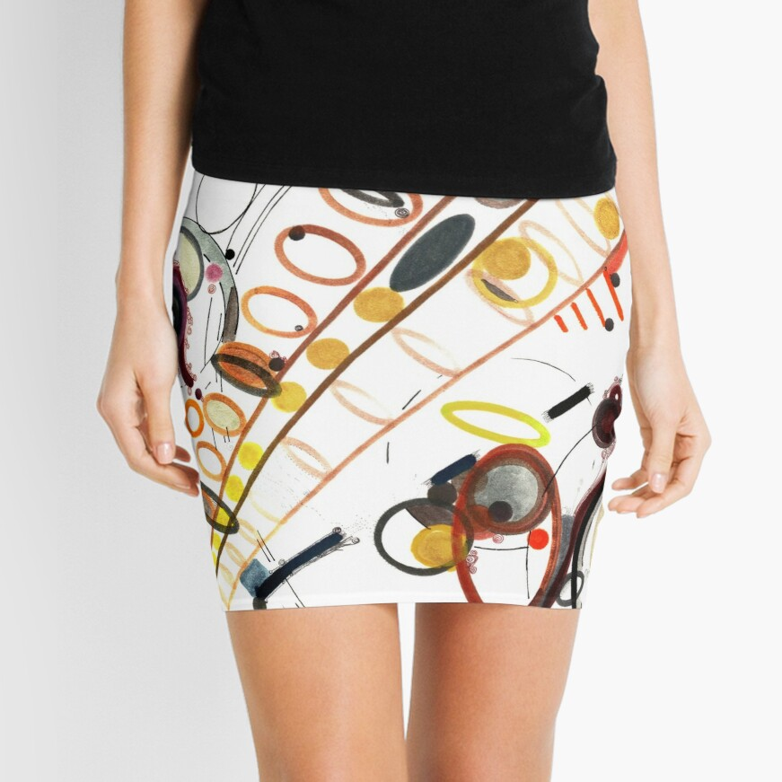 Elliptical Jubilee Mini Skirt
