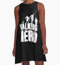 The walking nerd A-Line Dress