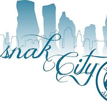 Sasnak City 1st Generation Drawstring Bag by SASNAK1