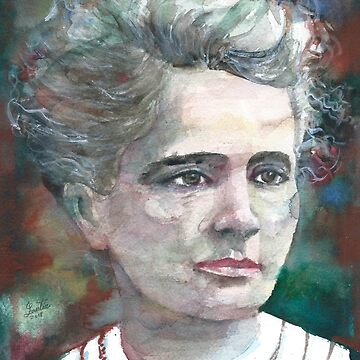 MARIE CURIE - watercolor portrait.3 by lautir