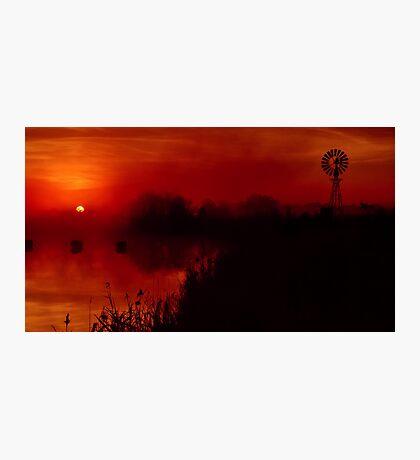 """Barwon Sunrise"" Photographic Print"