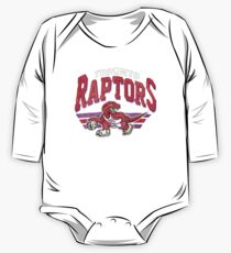 Toronto Raptors Retro Logo One Piece - Long Sleeve