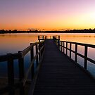 Canning River at Shelley, Perth, Western Australia by Karen Stackpole