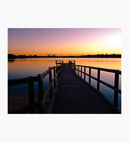 Canning River at Shelley, Perth, Western Australia Photographic Print