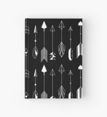 Be Brave Little Arrow (White)  Hardcover Journal