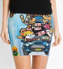 Last Day of Summer Street Fighter Poster Mini Skirt