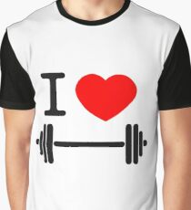 I love weights Graphic T-Shirt