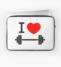 I love weights Laptop Sleeve