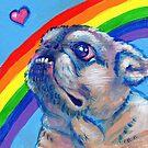 Pug by Katie Clark