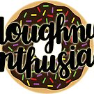 Doughnut Enthusiast Script - Chocolate-Frosted Doughnut by Ashley Wijangco