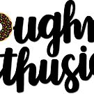 Doughnut Enthusiast Script - Chocolate by Ashley Wijangco