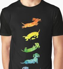 f8e4ee83 Watercolor Dachshunds Graphic T-Shirt