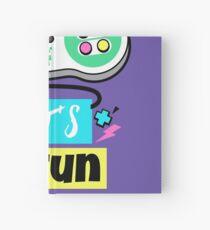 Retro Gamepad - Let's have fun Hardcover Journal