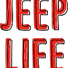 Jeep Life (rot) von its-anna