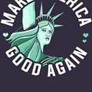 Anti Trump Shirt, machen Amerika wieder gut von BootsBoots