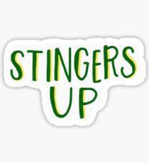 STINGERS UP // SAC STATE Sticker