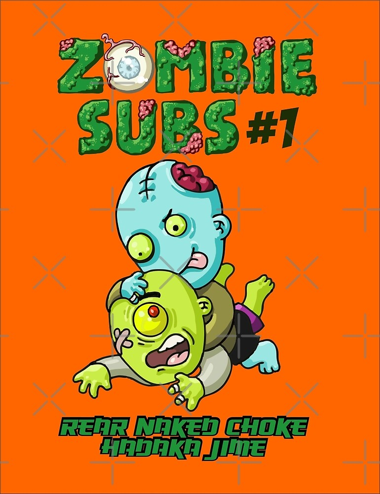 Zombie Subs #1 by undersideland
