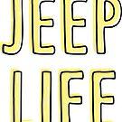 Jeep Life (gelb) von its-anna