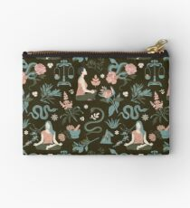 Cleansing thoughts and healing herbs Studio Pouch
