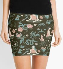 Cleansing thoughts and healing herbs Mini Skirt