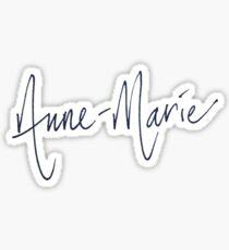 Anne Marie Signature Sticker