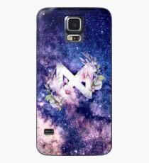Monsta X Galaxy Flowers Case/Skin for Samsung Galaxy