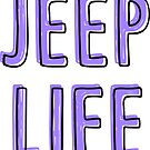 Jeep Life (violett) von its-anna